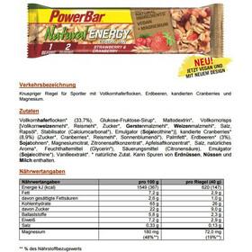 PowerBar Natural Energy Cereal Urheiluravinto Strawberry-Cranberry 24 x 40g